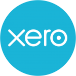 Xero logo on the benefits of using the software for MTD